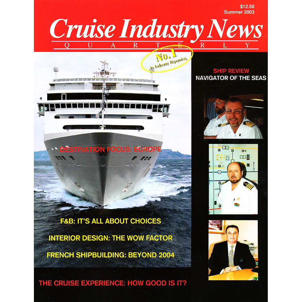 2003 Summer Magazine Pdf Download Cruise Industry News Online Store