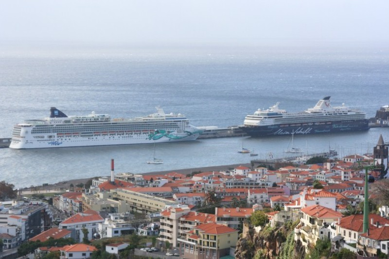 Photos Ships In Funchal Cruise Industry News Cruise News