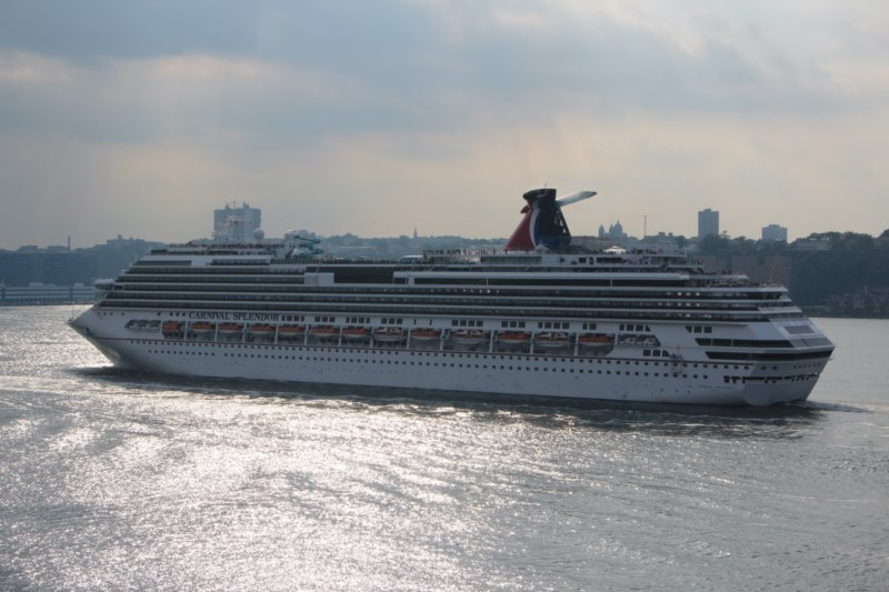 Photos Carnival Splendor In New York Cruise Industry News Cruise News