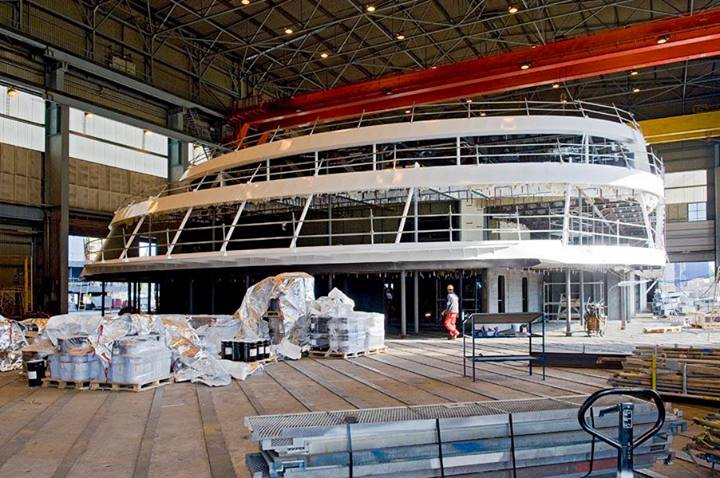 Photos Mein Schiff 3 Construction Continues At Stx
