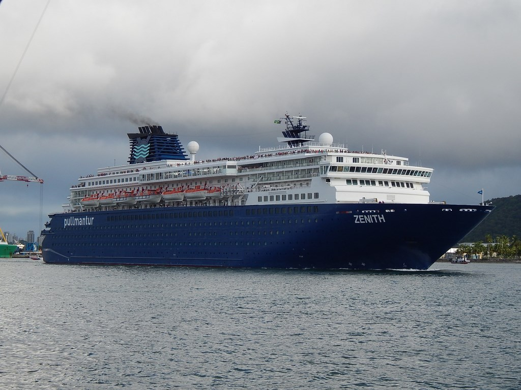 Photos Pullmantur Zenith And MSC Poesia Cruise Industry News - Zenith cruise ship itinerary