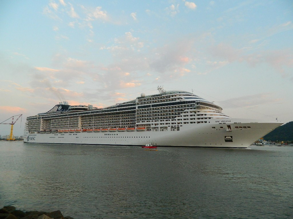 Photos Msc Divina In Brazil Cruise Industry News Cruise News