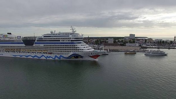 AIDA Concludes Baltic Season From Warnemunde-Rostock