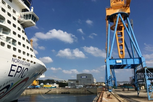 Drydock Upgrades for the Norwegian Epic