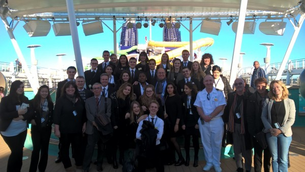 Cannes: Tourism Students Hosted on the Norwegian Epic