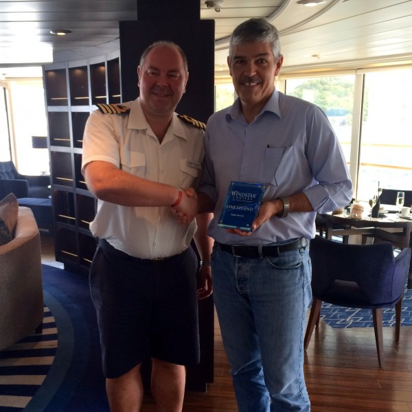 Photos: The Star Legend Makes Maiden Call at Les Saintes in Guadeloupe