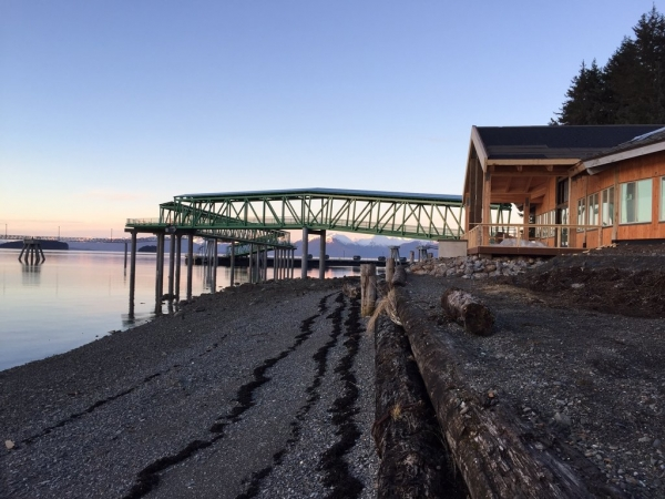 Icy Strait Point's New Dock To Be Ready for Season