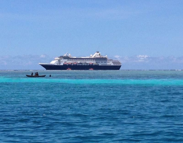 P&O Cruises Makes History in Solomon Islands