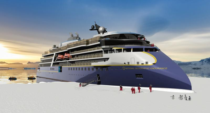 Lindblad Exercises Option on Second Polar Expedition Vessel