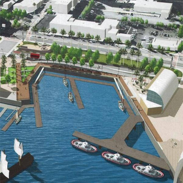 Port of LA Starts Construction of Waterfront Centerpiece