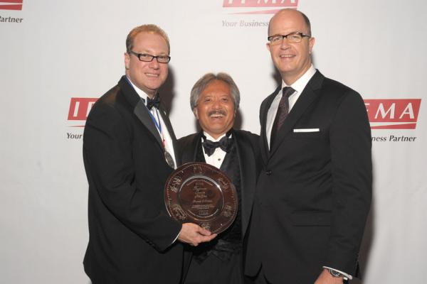 Royal Caribbean F&B VP Frank Weber Awarded IFMA Silver Plate
