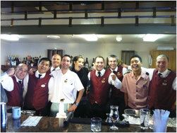 Princess Bartenders Compete for Diageo Reserve World Class for 2012