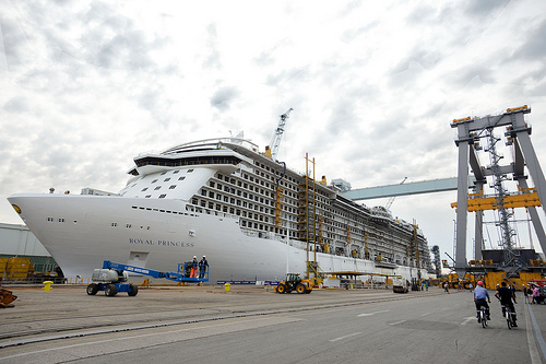 Photos from the Float Out of the Royal Princess