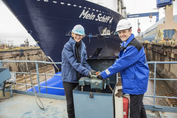Mein Schiff 4 Floated Out