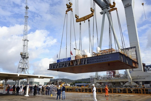 Keel-Laying for Carnival Vista