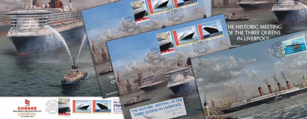 Isle of Man Post Office Issues Cunard Collectibles