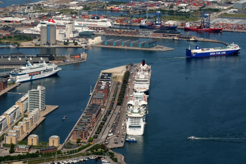 Inside copenhagen malmo port new infrastructure and more traffic cruise industry news - Copenhagen airport to port ...