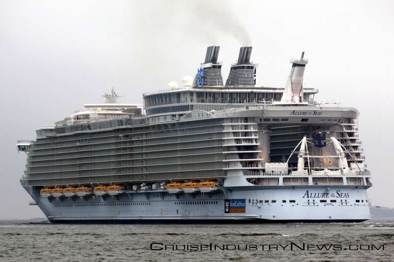 Photos Allure Of The Seas Begins Seatrials Cruise