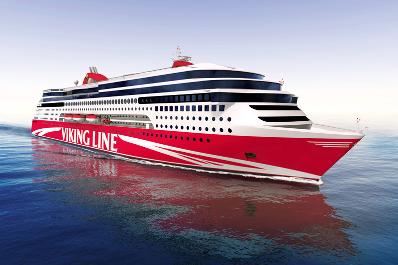 Viking Line will build an LNG-powered ferry.