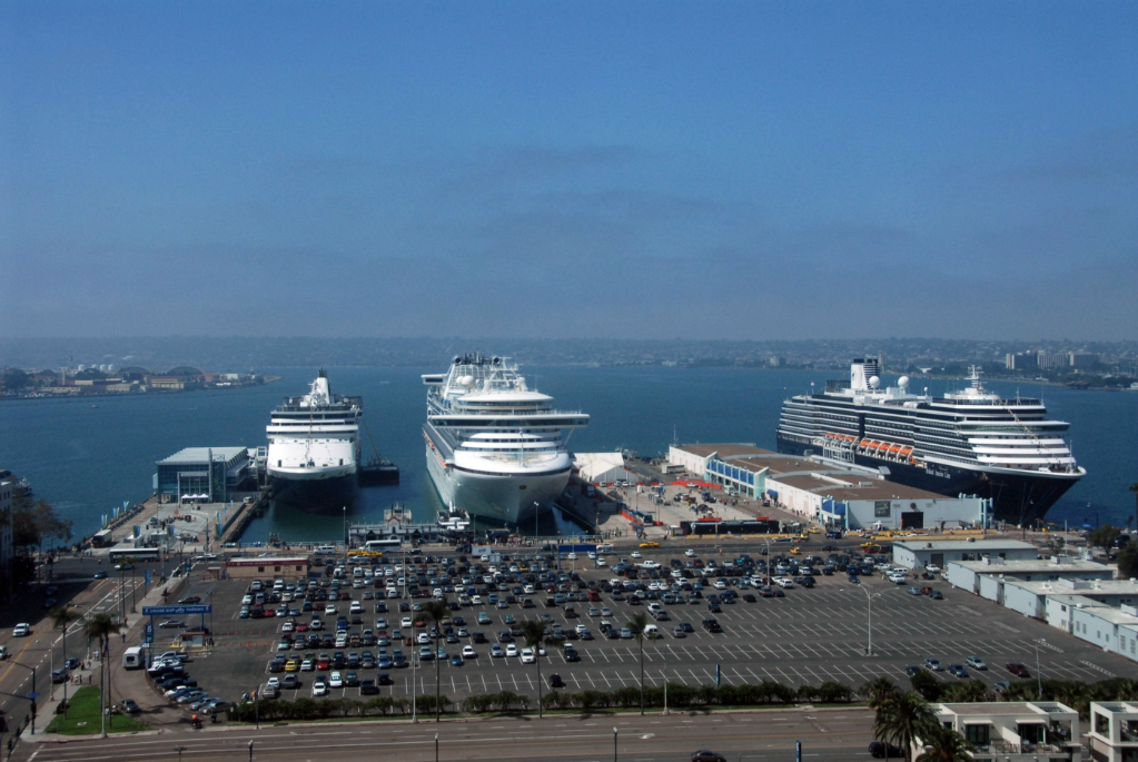 Port Of San Diego Welcomes Three Ships Cruise Industry News - Cruise ships from san diego