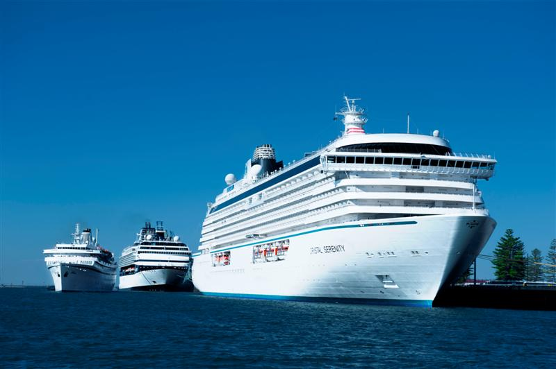Big Weekend For Adelaide  Four Ships  Cruise Industry