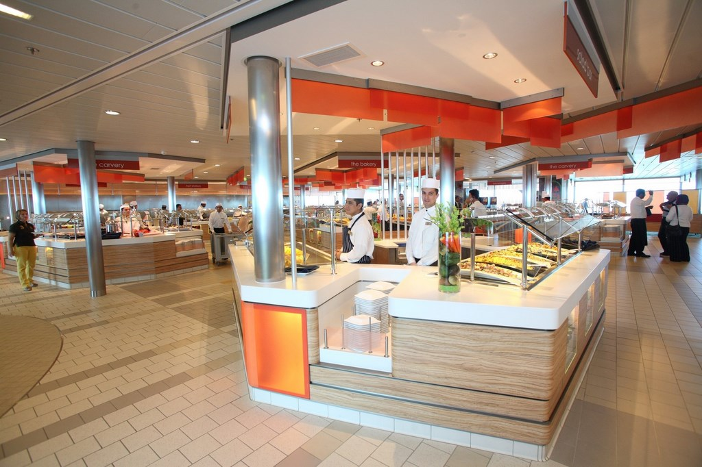 Celebrity cruises pilots new buffet concept cruise