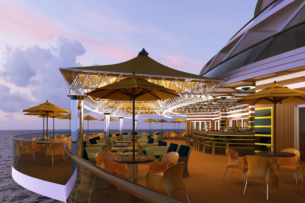 Costa Diadema Features Designs By Joe Farcus Cruise