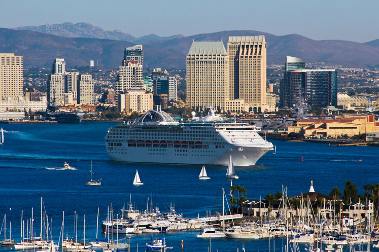 San Diego, California Cruise Port, 2019 and 2020 Cruises ...