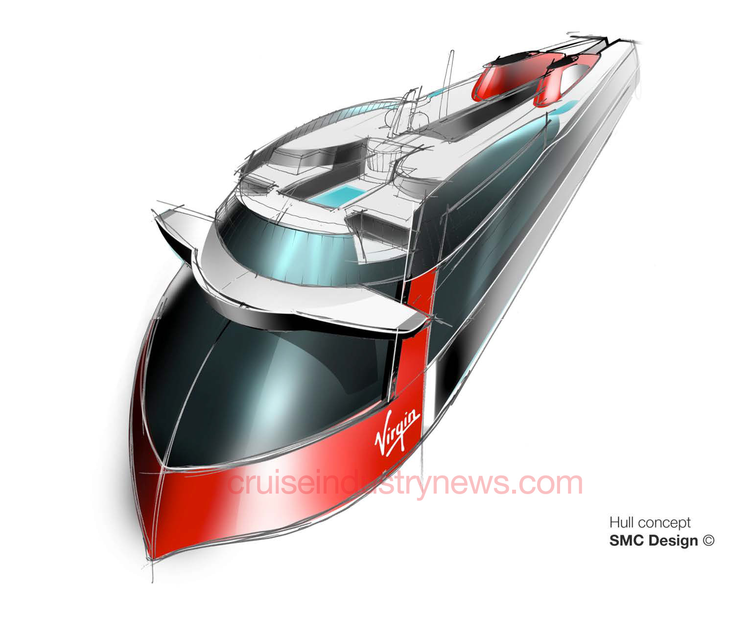 Virgin Cruises Ship Renderings And Details Shown In