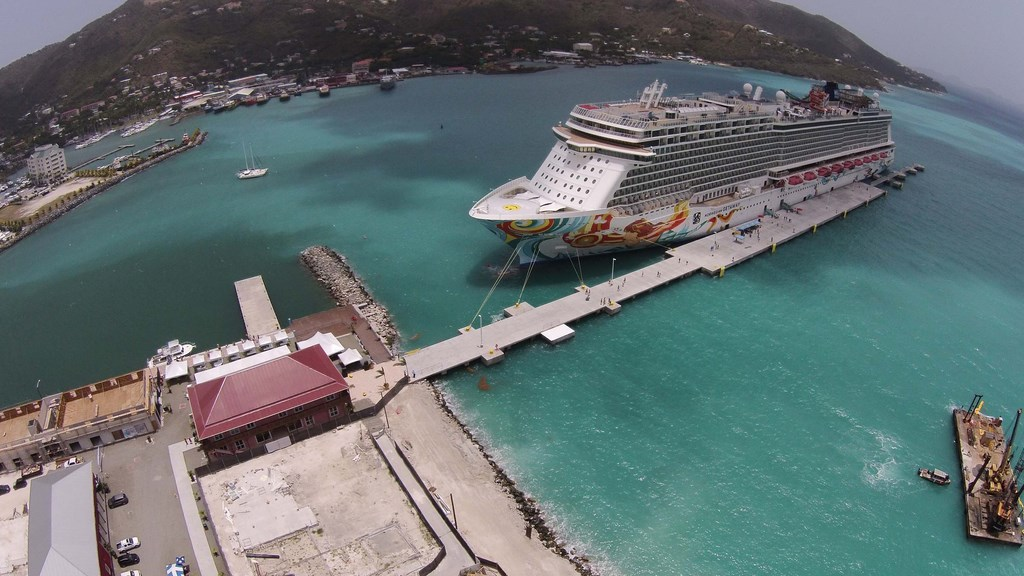 BVI Cruise Pier Expansion Complete Cruise Industry News Cruise - Bvi ports authority cruise ship schedule