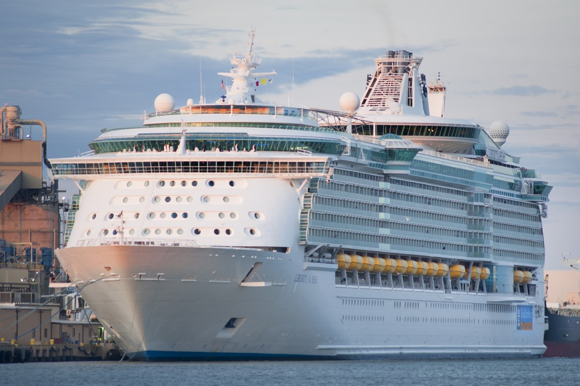 Liberty Of The Seas Arrives In Galveston Cruise Industry News - Cruise out of galveston tx