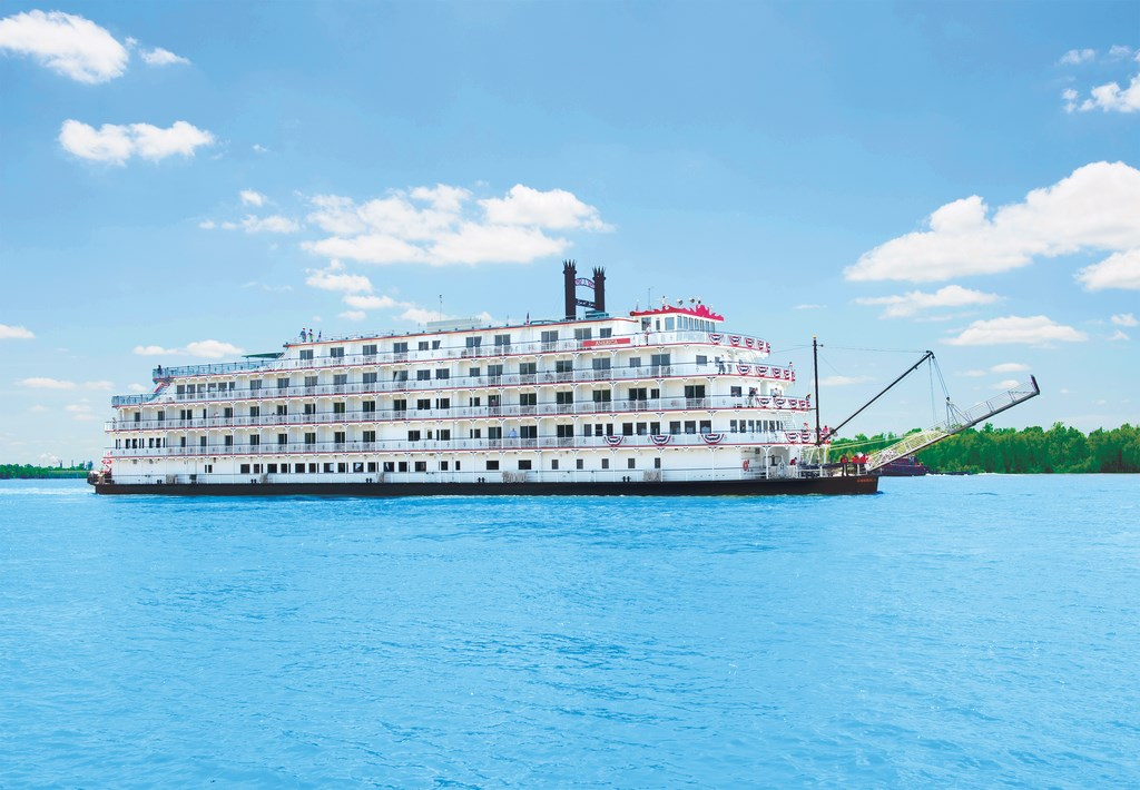 New Riverboat Debuts For American Cruise Line On