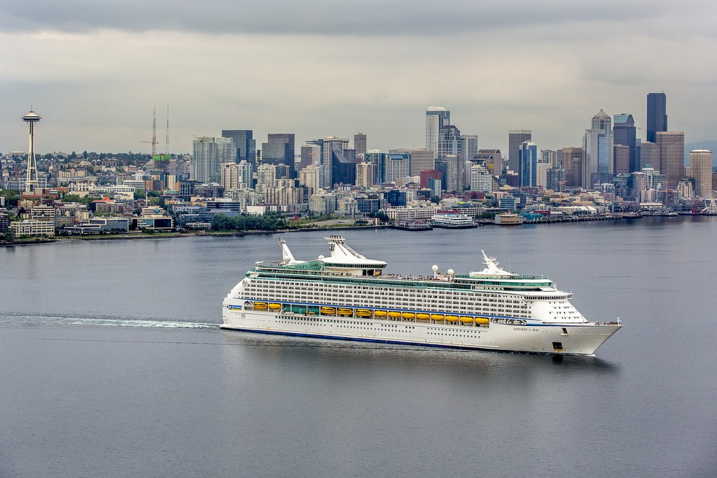Explorer of the Seas Arrives in Seattle to Open 2016 Alaska Season