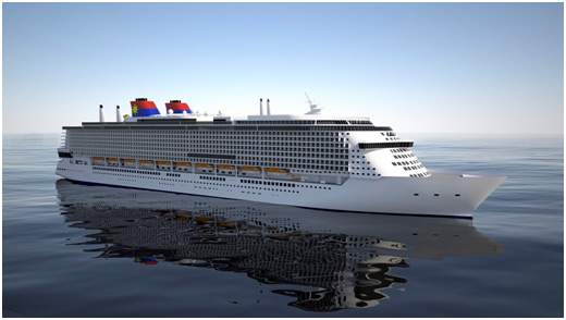 Genting Orders Two 201,000-Ton Ships for Star Cruises