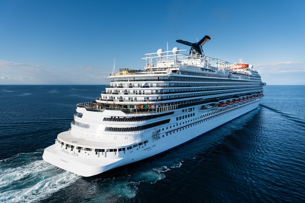 Carnival Cruise Line Takes Delivery Of Vista Cruise