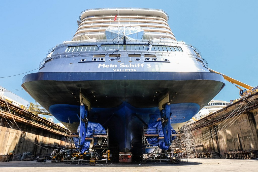 Mein Schiff 3 Completes First Drydock Cruise Industry