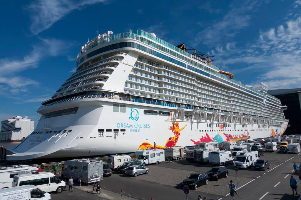 Genting Dream Floated Out In Germany Cruise Industry