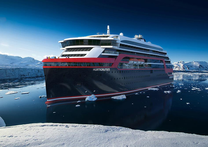 New Hurtigruten Ship Rendering