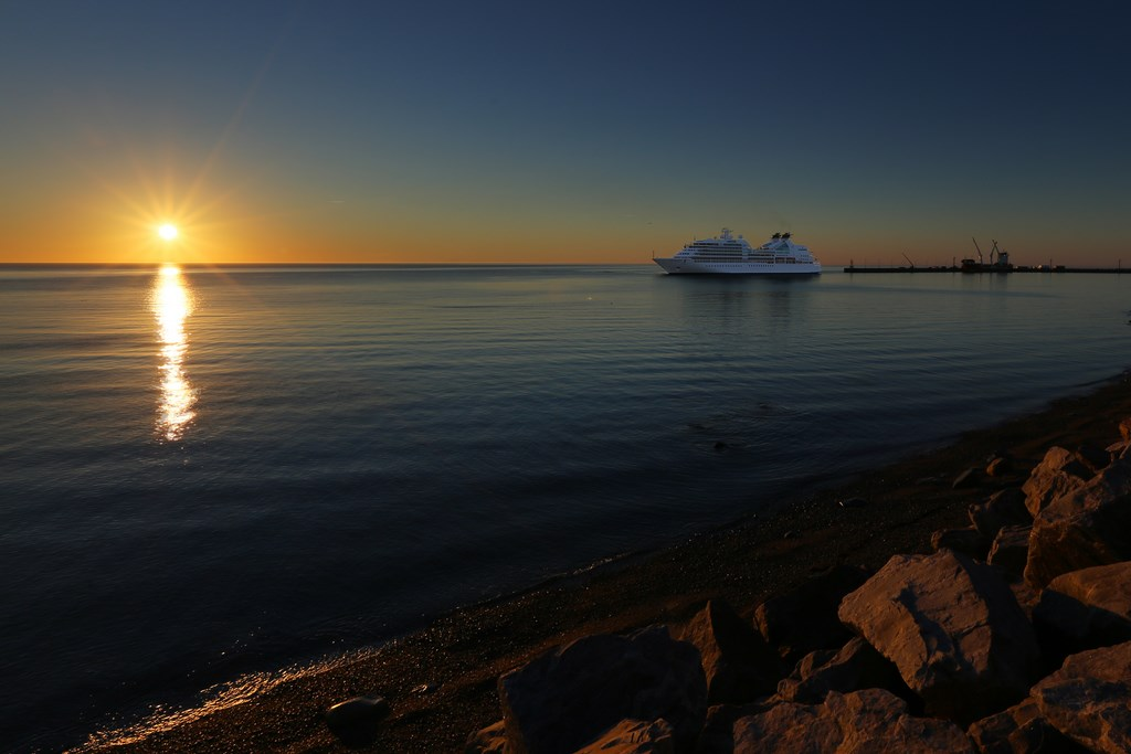 Seabourn Quest in Baie-Comeau