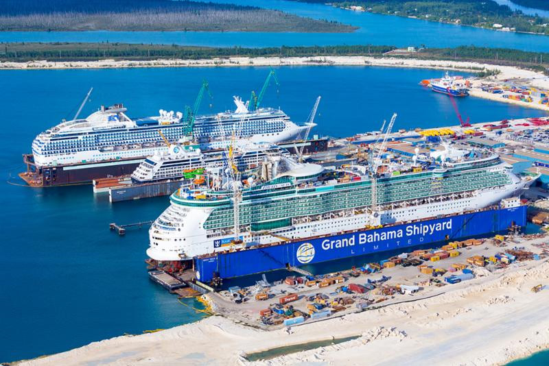 Grand Bahama Shipyard 20 Drydocks Scheduled For 2016