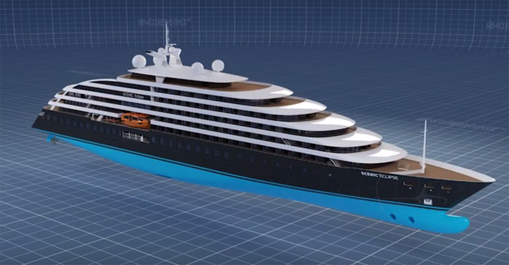 Scenic Announces New Ton Cruise Ship Cruise Industry News - New luxury cruise ships