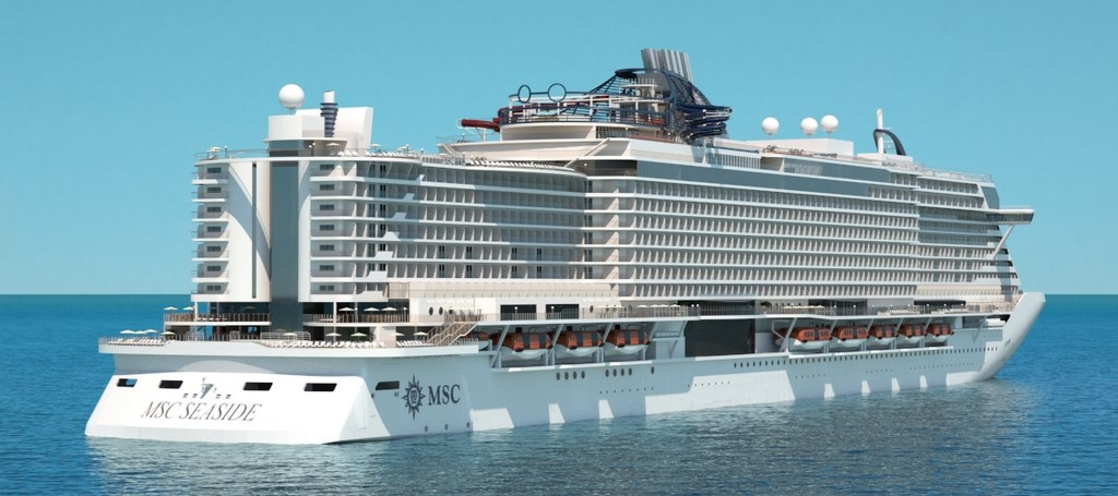 Msc Seaview To Launch In 2018 In Western Med Cruise Industry News Cruise News