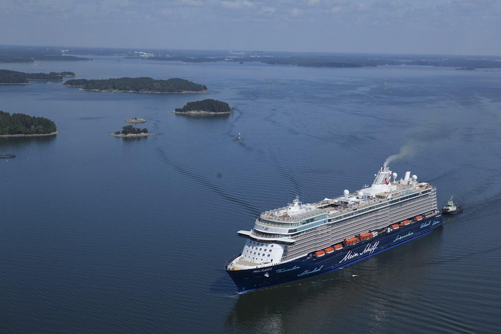 Mein Schiff 5 Delivered 10 Days Early