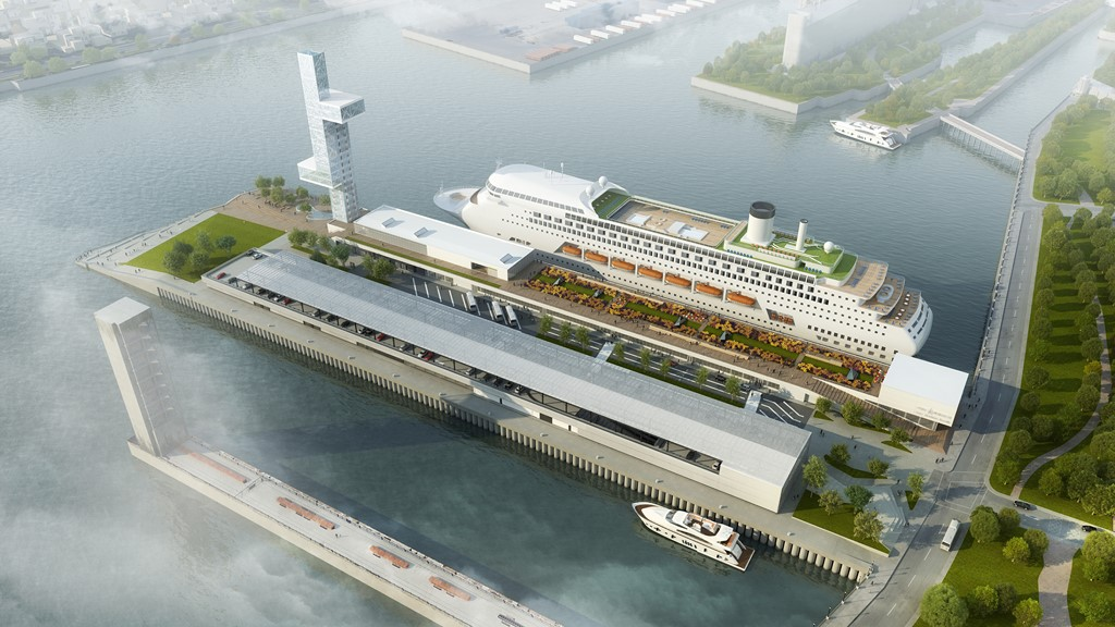 New Montreal Cruise Terminal Set For May 2017 Debut