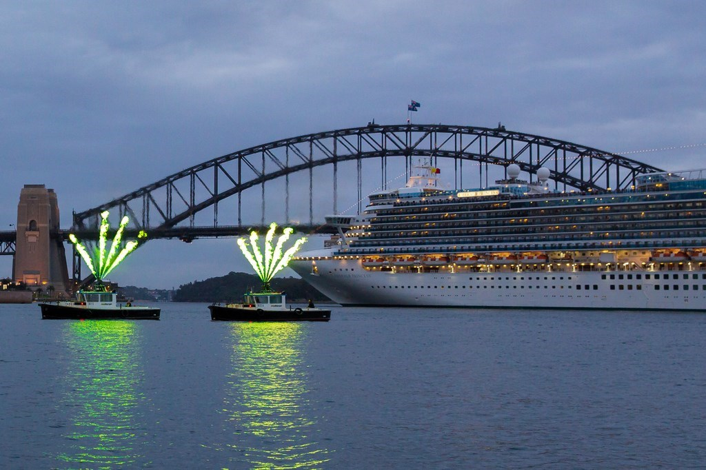 Emerald Princess Makes Maiden Call To Sydney Cruise