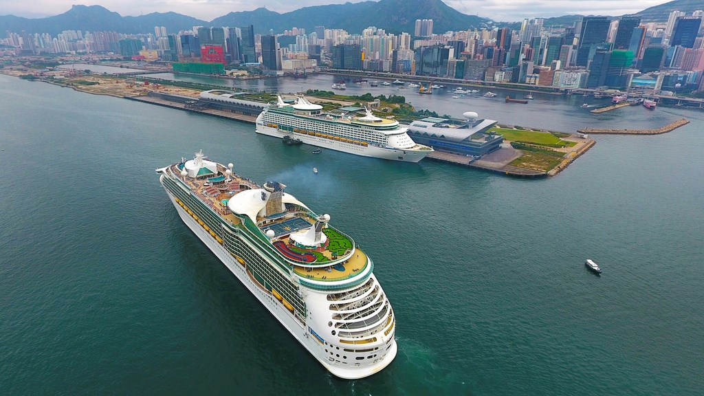 Double Call For Royal Caribbean Ships In Hong Kong Cruise Industry News Cruise News
