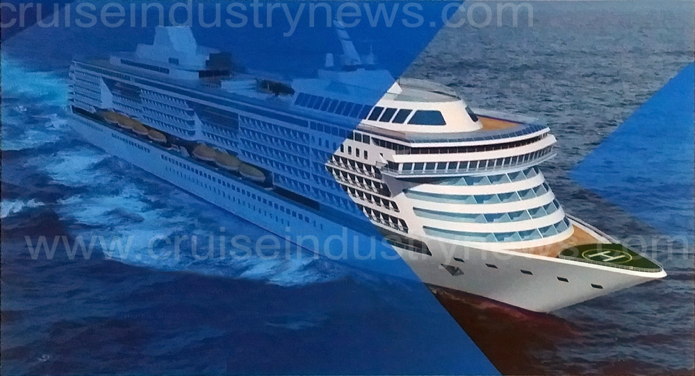 ChineseBuilt Cruise Ship Renderings Show Multiple Concepts - Chinese cruise ship