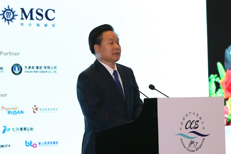 Xilong Zhang, vice director, China National Tourism Administration