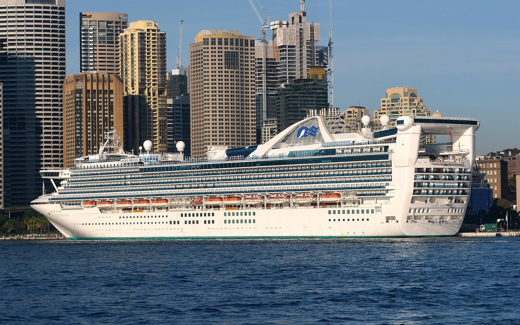 Golden Princess Marks 75th Anniversary Of The Battle Of The Coral Sea Cruise Industry News