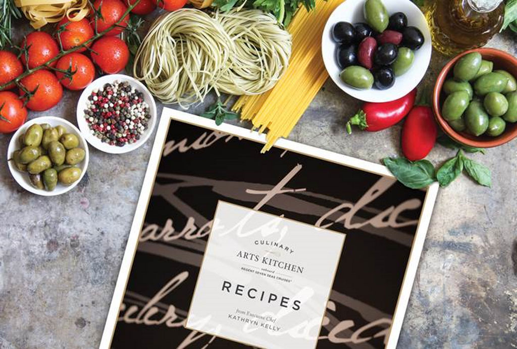 Regent Rolls Out Culinary Arts Kitchen Recipes Cookbook Cruise Industry News Cruise News